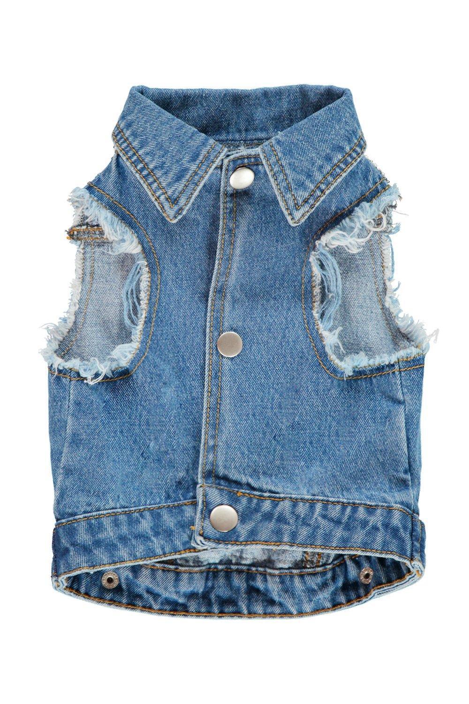035222e46fb2 Boohoo Elsie Sequin Dog Denim Jacket in Blue - Lyst