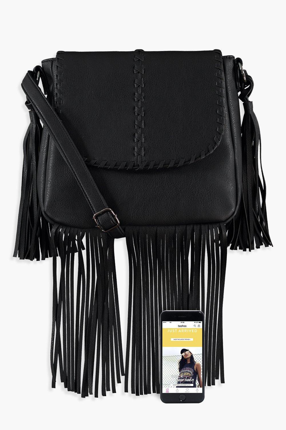 Gallery. Previously sold at  Boohoo · Women s Fringed Bags ... d7c63d48b1e51