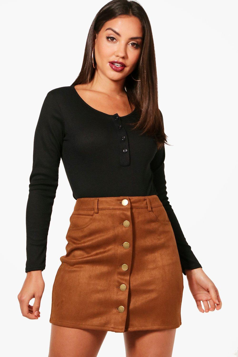 Boohoo Longsleeve Knitted Button Up Bodysuit Clearance Low Shipping Sale Finishline Outlet Clearance Store 4IuUq6jH