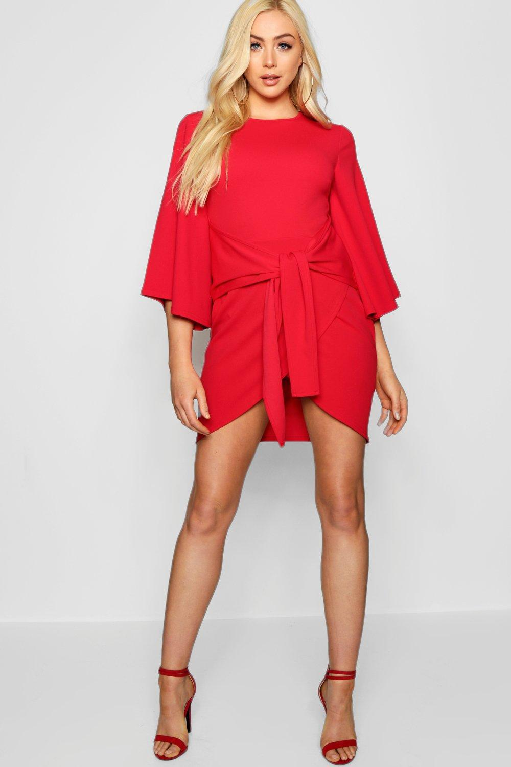 5bb239a999a7 Gallery. Previously sold at: Boohoo · Women's Kimono Dresses Women's Wrap  ...