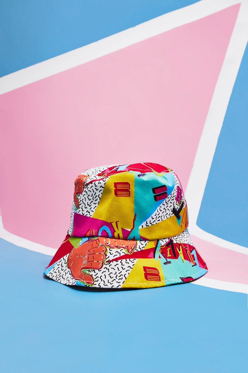 f3a56a977 Boohoo Pride Bucket Hat With Unity Print for Men - Lyst