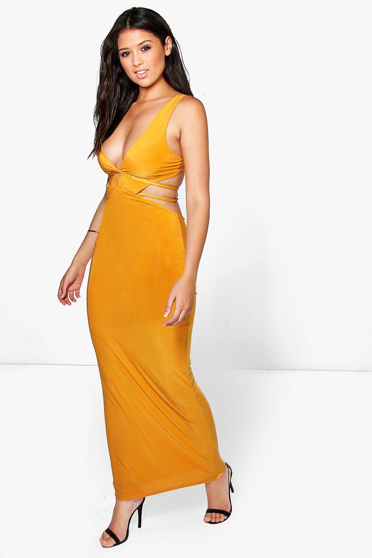 Turmeric Evening Dress