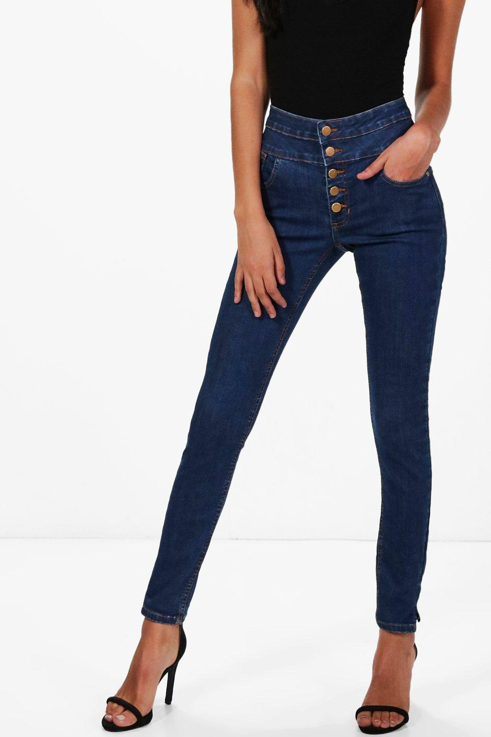 Boohoo ruby 5 pocket skinny jeans