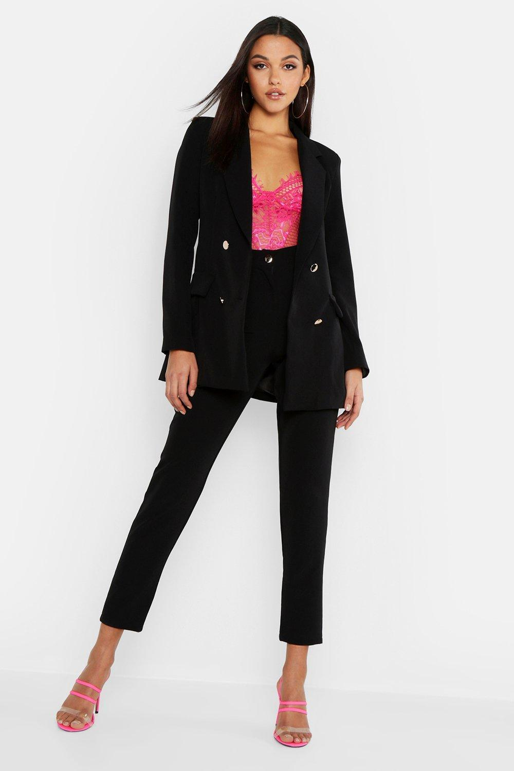 777db8e80d5f1 Boohoo. Women's Tall Neon Tailored Trouser