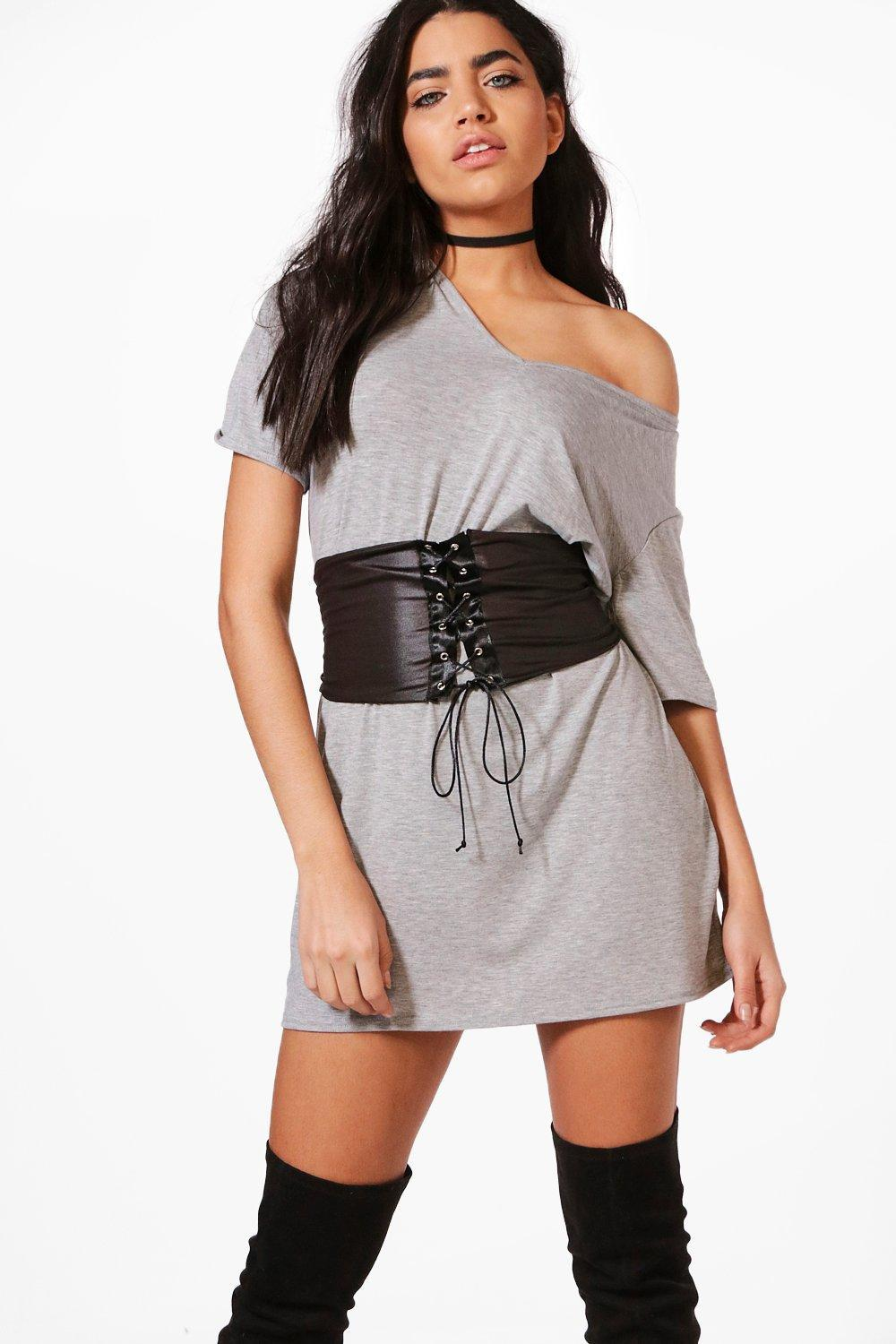 3e422fd857440 Gallery. Previously sold at: Boohoo · Women's T Shirt Dresses ...