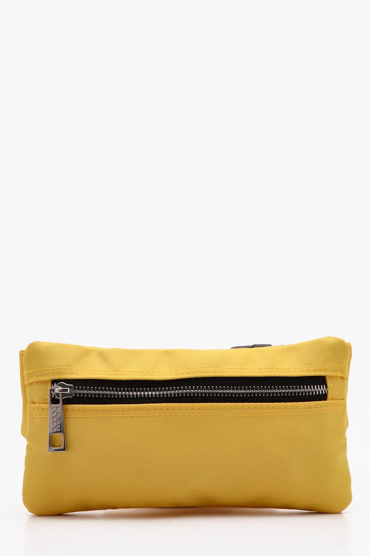 b03d4b66f91e BoohooMAN - Yellow Mini Man Branded Cross Body Bag for Men - Lyst. View  fullscreen