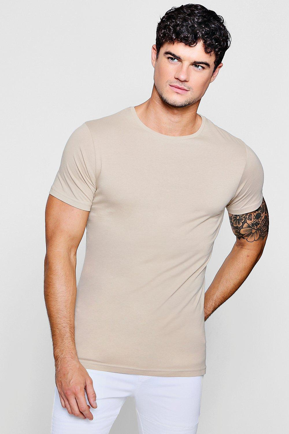 0b205939 Gallery. Previously sold at: boohooman · Men's Longline T Shirts ...