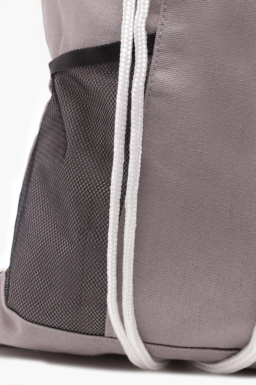 Lyst - Boohoo Mesh Panel Drawstring Bag in Gray for Men cdafd4d7f4