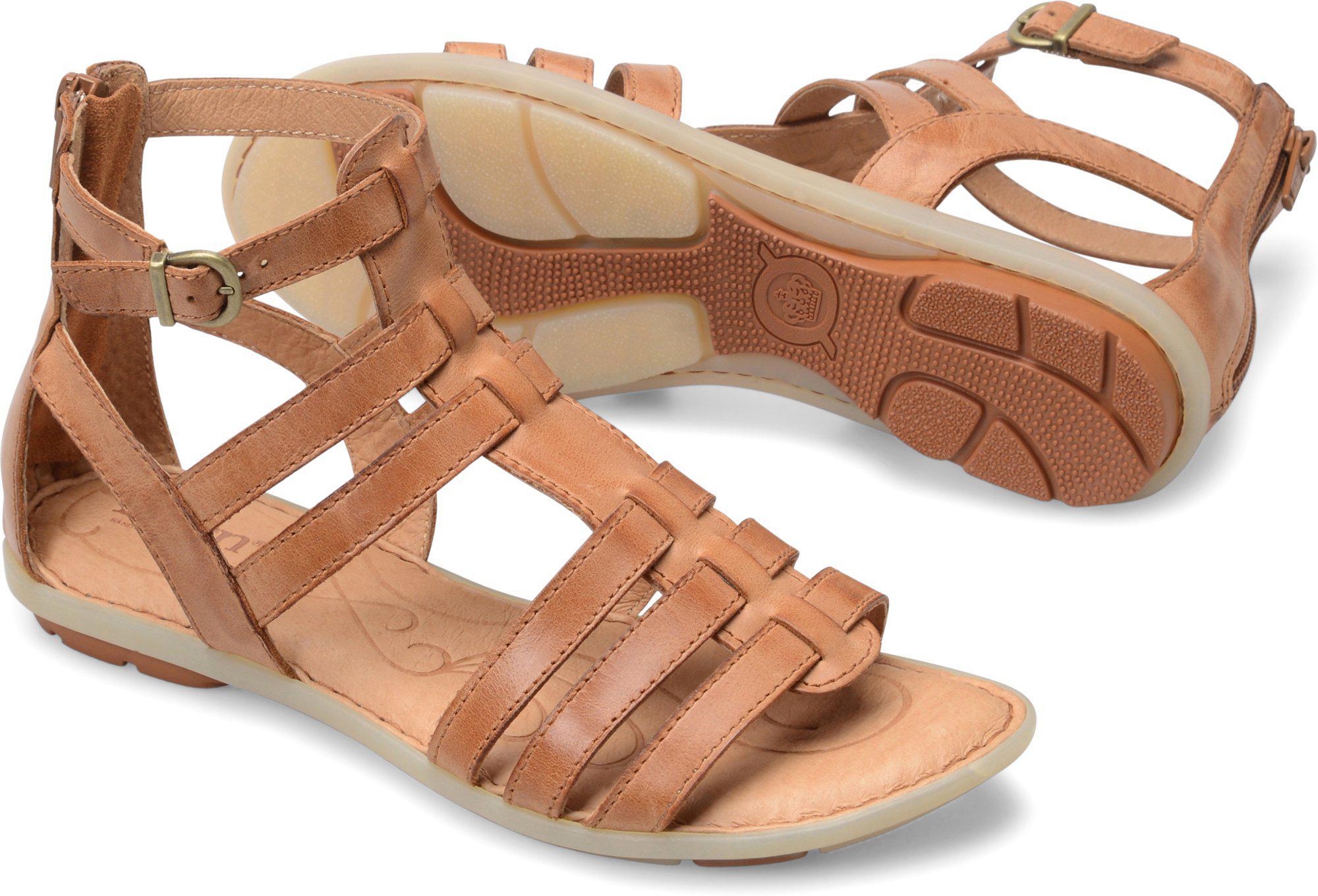Born Tripoli Gladiator Sandals mNX8TPlM