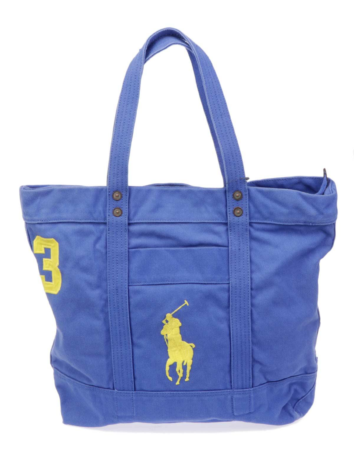 Lyst - Polo Ralph Lauren Big Pp Tote in Blue for Men 3080adc63531e