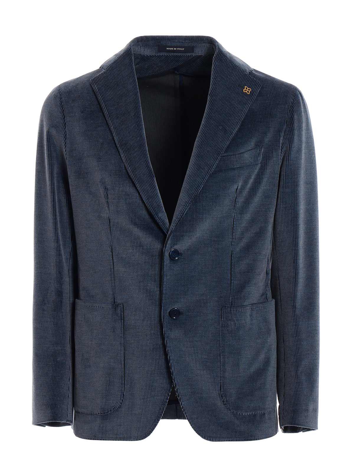 Lyst - Tagliatore Giacca in Blue for Men c56f20c157f