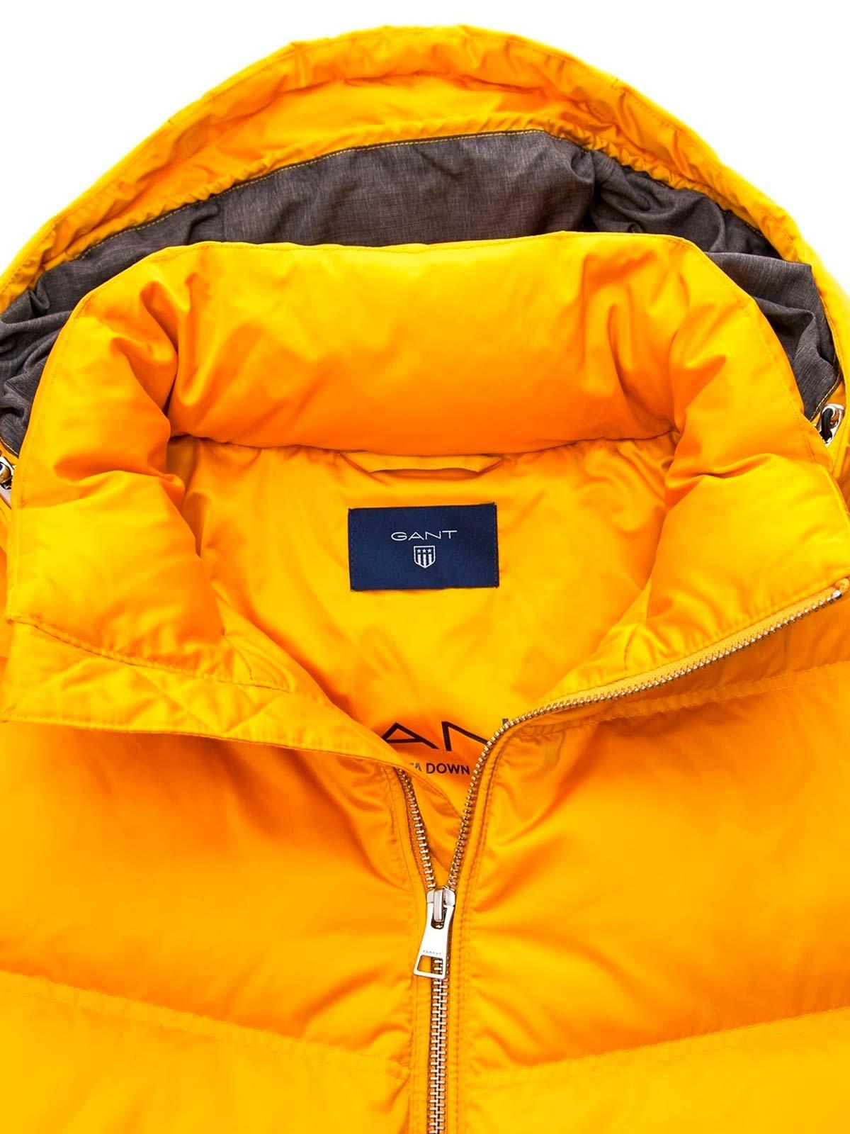 cf403e6abed GANT O2. The Alta Down Jacket in Yellow for Men - Lyst