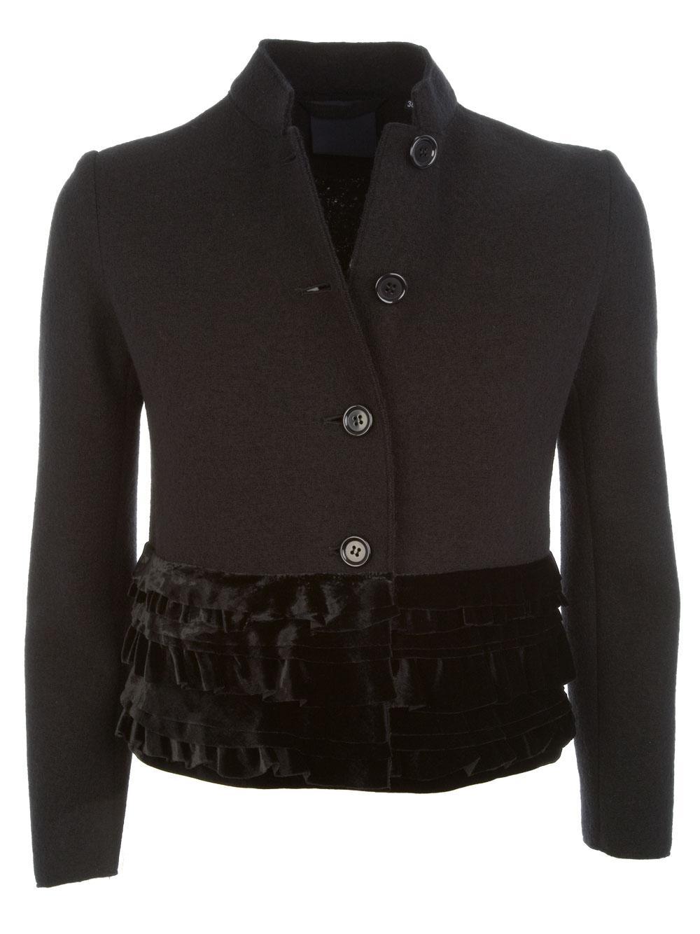 Lyst - Aspesi Giacca Donna in Black 239b9b73815e