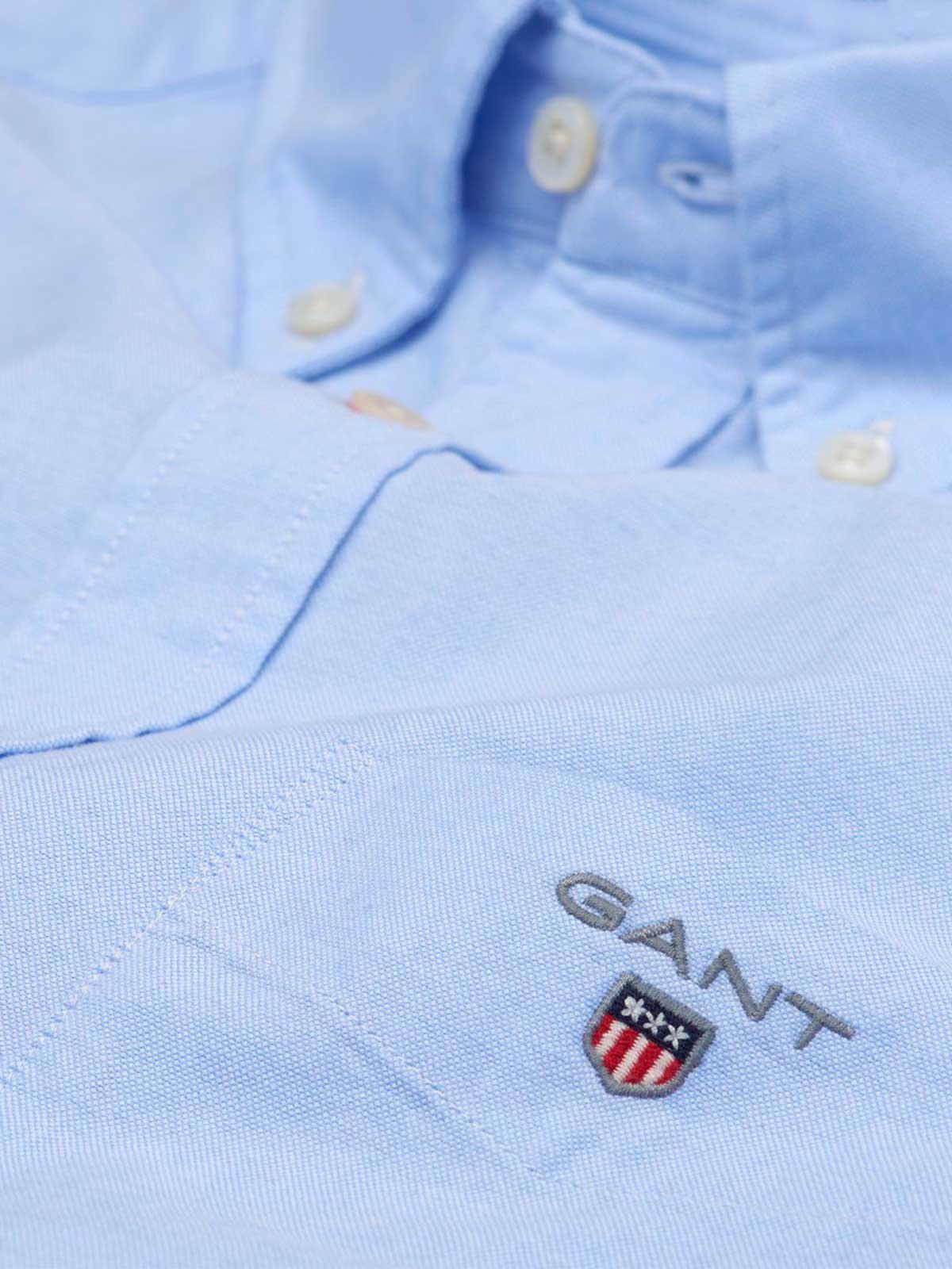Gant - Blue The Oxford Shirt Reg Bd for Men - Lyst. View fullscreen fb93ad601dbb