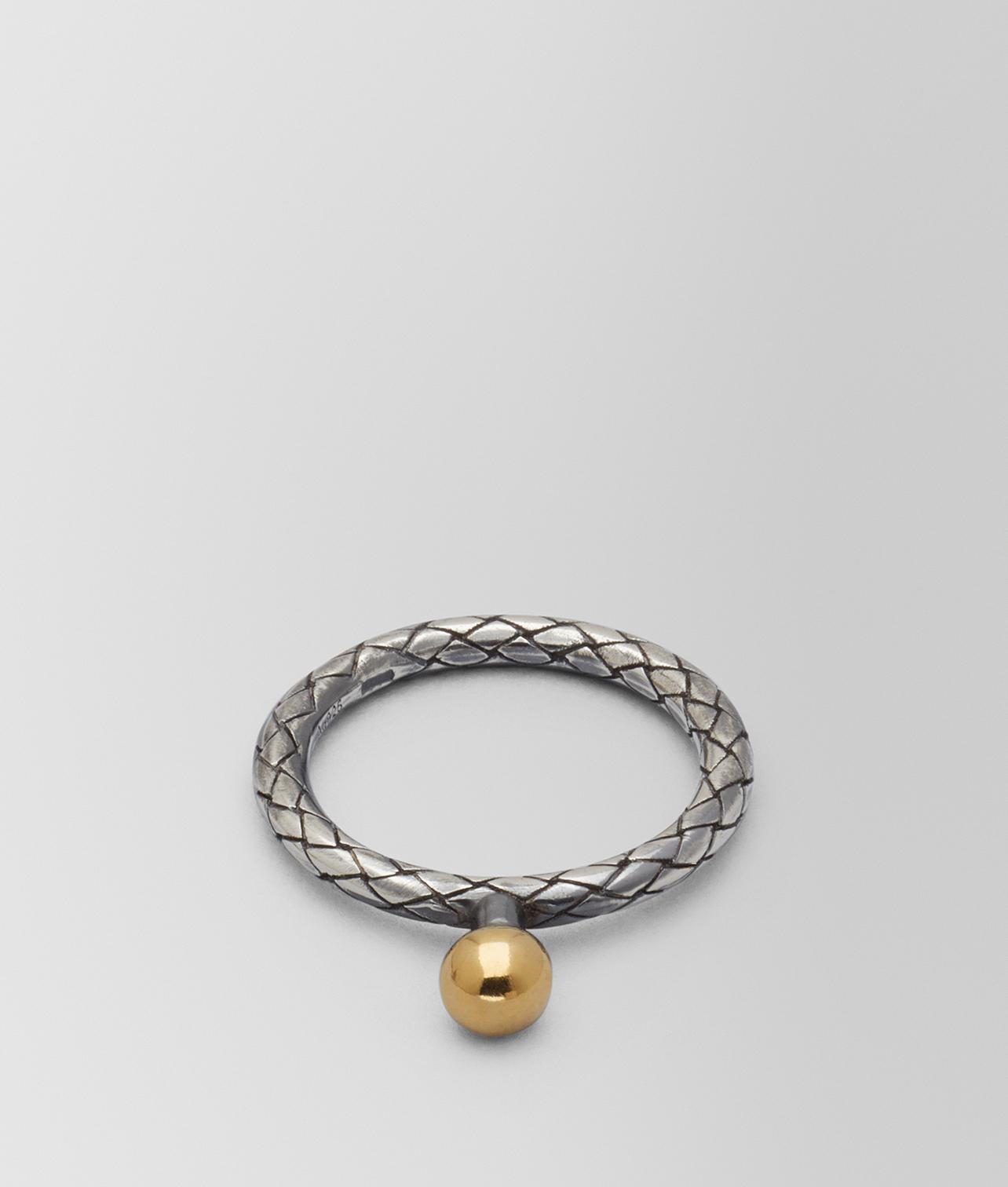 Bottega Veneta Antique Silver/Yellow Gold Patina Dichotomy Necklace Argento antique GkbwyJm