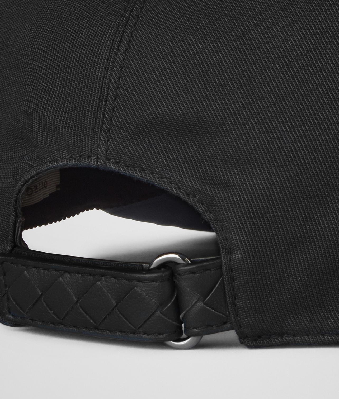bcf3135be1d0 Lyst - Bottega Veneta Nero Cotton nappa Hat in Black for Men