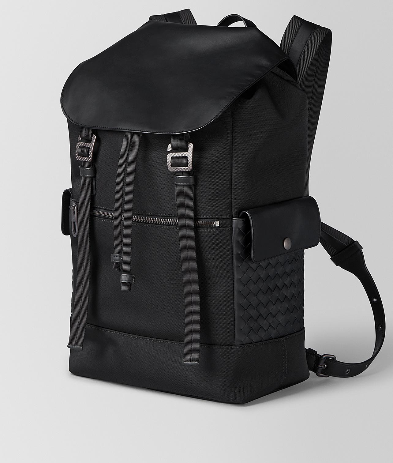 afd79f2605 Lyst - Bottega Veneta Nero Hi-tech Canvas Sassolungo Backpack in Black for  Men