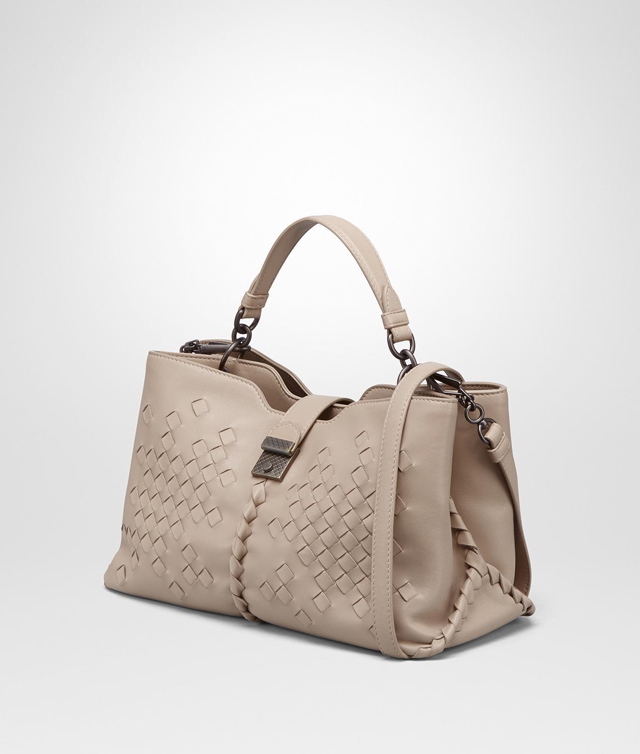 b2f1a5477d Lyst - Bottega Veneta Mink Nappa Medium Napoli Bag