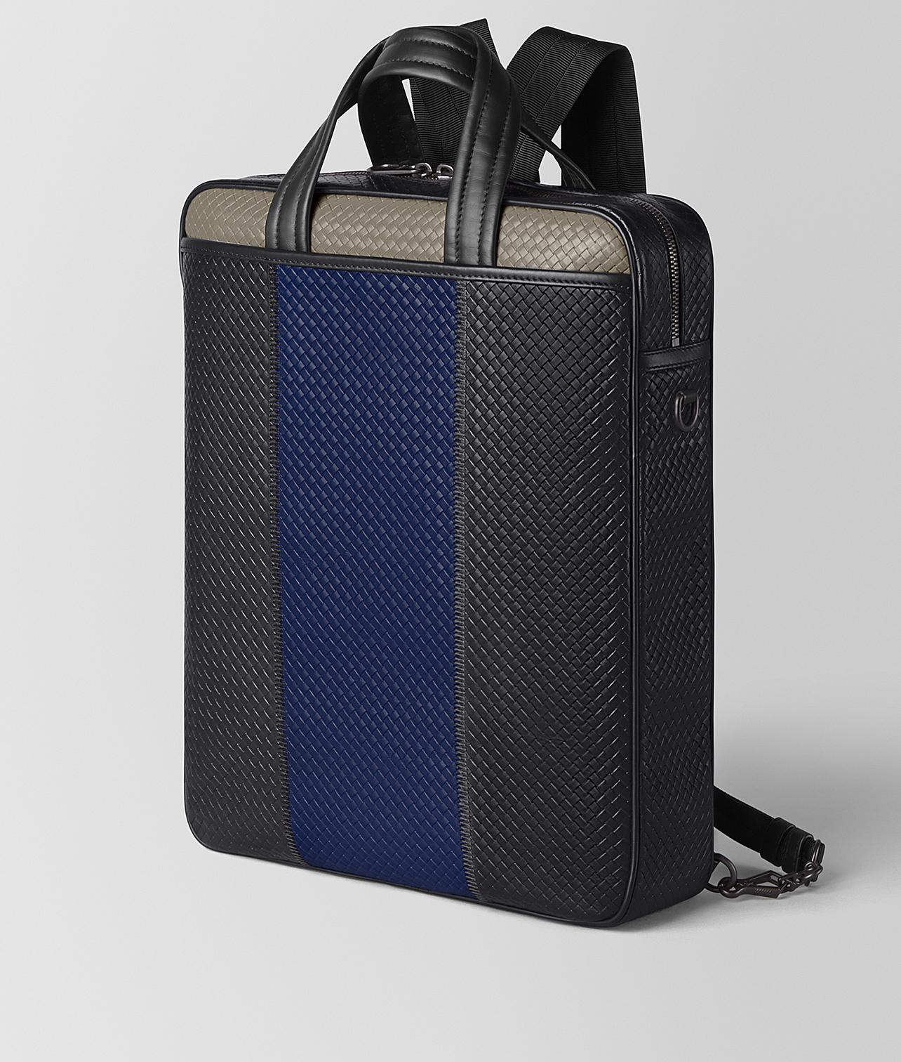 Lyst - Bottega Veneta Backpack In Micro-intrecciato Embossed in Black for  Men ed9182d95183f