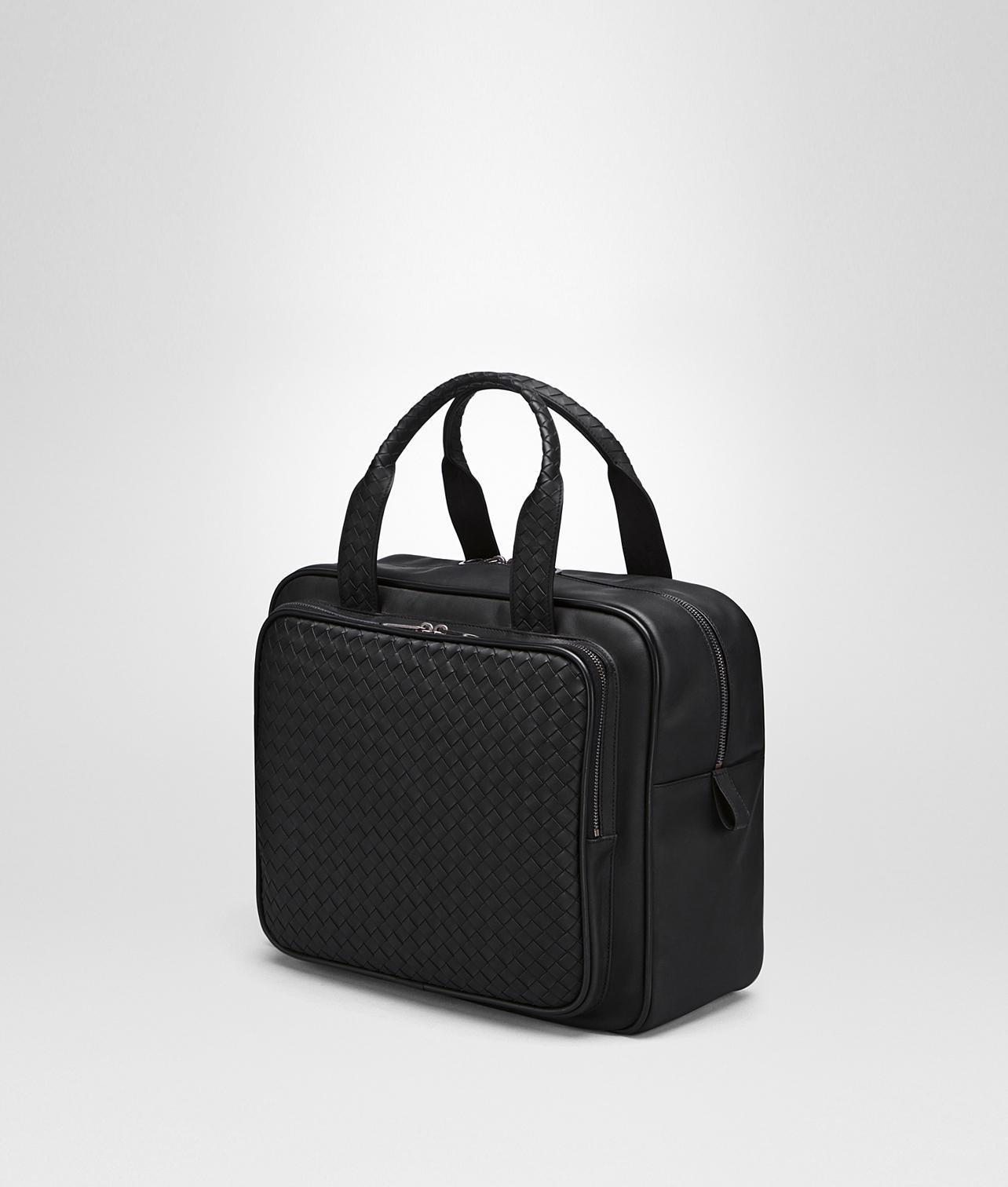 16ee49d510e2 Lyst - Bottega Veneta Briefcase In Nero Intrecciato Vn in Black for Men