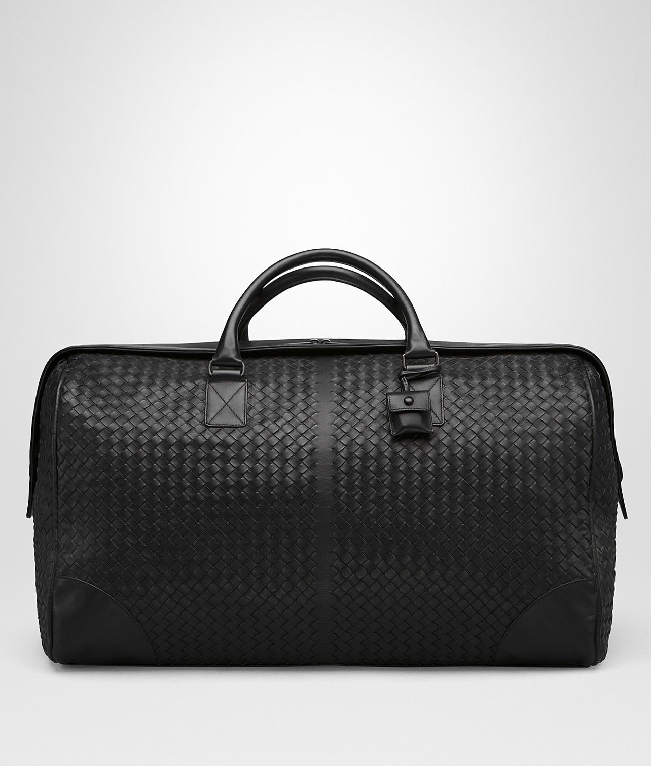 641b22110067 Bottega Veneta Large Duffel Bag In Nero Intrecciato Vn in Black for ...