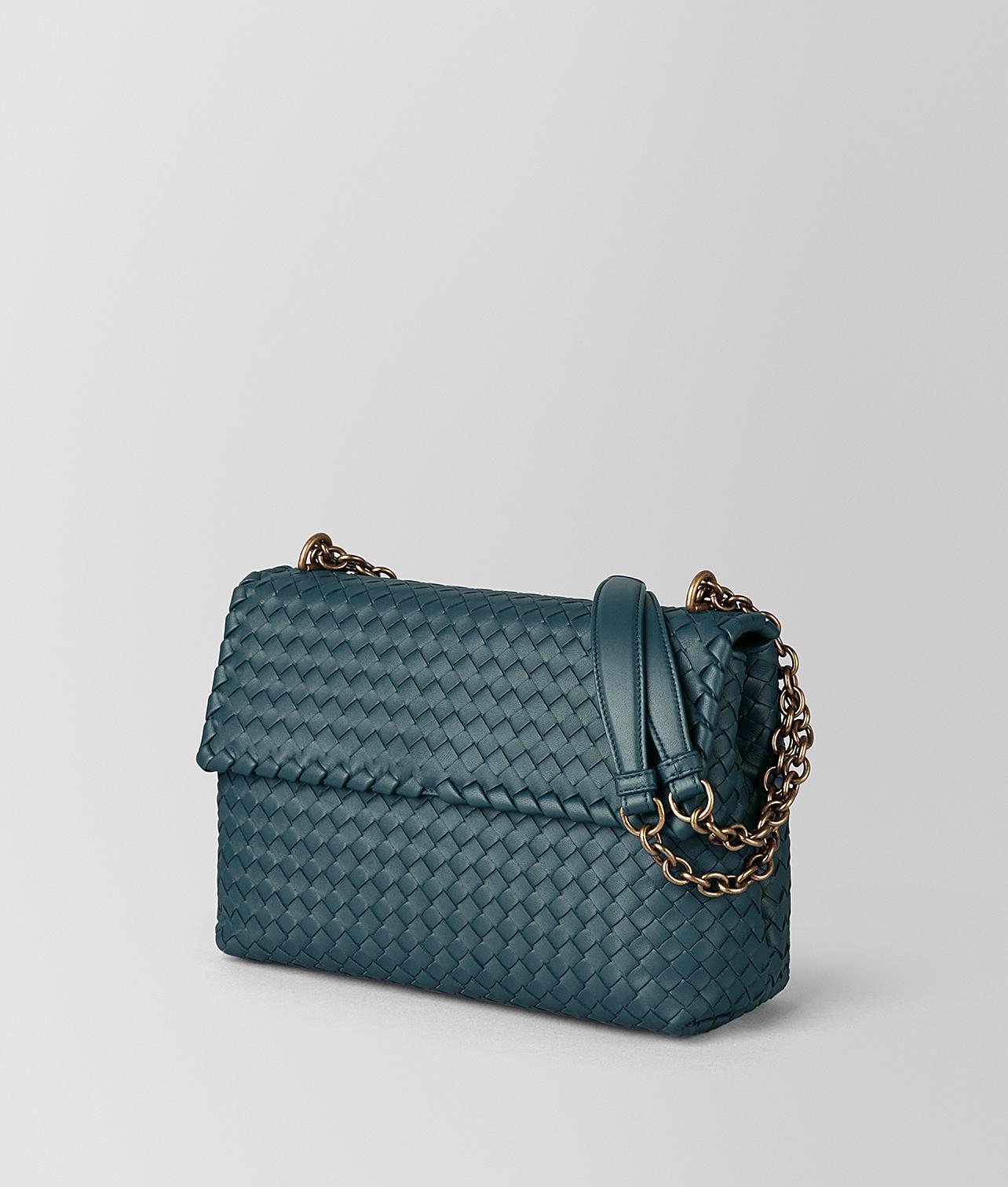 285d3663bc06 Bottega Veneta Large Olimpia Bag In Intrecciato Nappa - Lyst