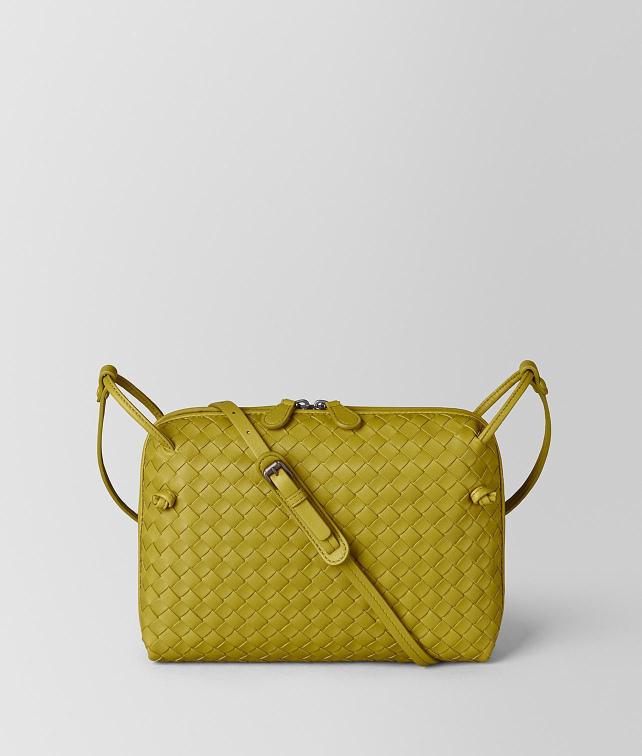 Bottega Veneta - Multicolor Nero Intrecciato Nappa Leather Nodini Bag - Lyst e9cf2a9715e26
