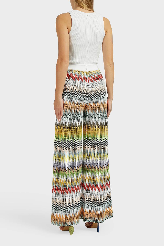 cf102b06d0b Missoni - Multicolor Zig Zag Cotton-blend Jumpsuit - Lyst. View fullscreen