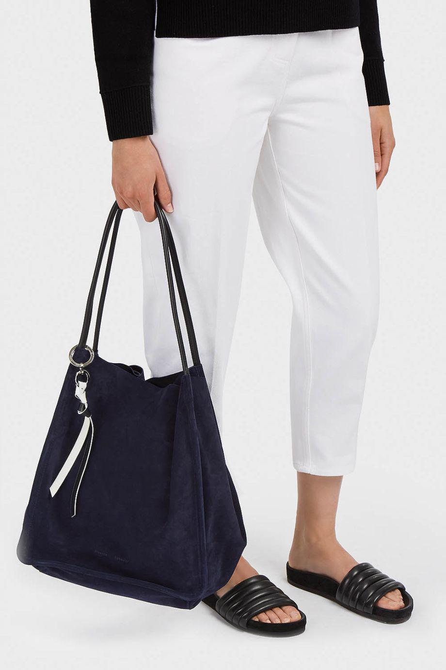 405c89b959b5 Proenza Schouler Extra Large Suede Tote in Blue - Lyst