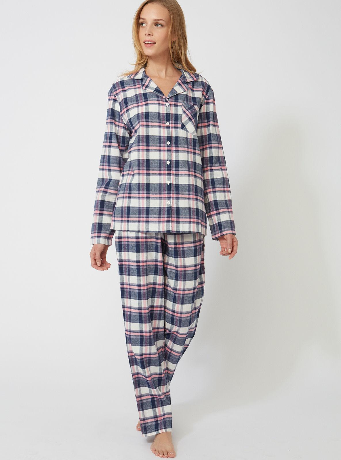 6a96c7e9b0 Lyst - Boux Avenue Navy Check Pjs In A Bag in Blue