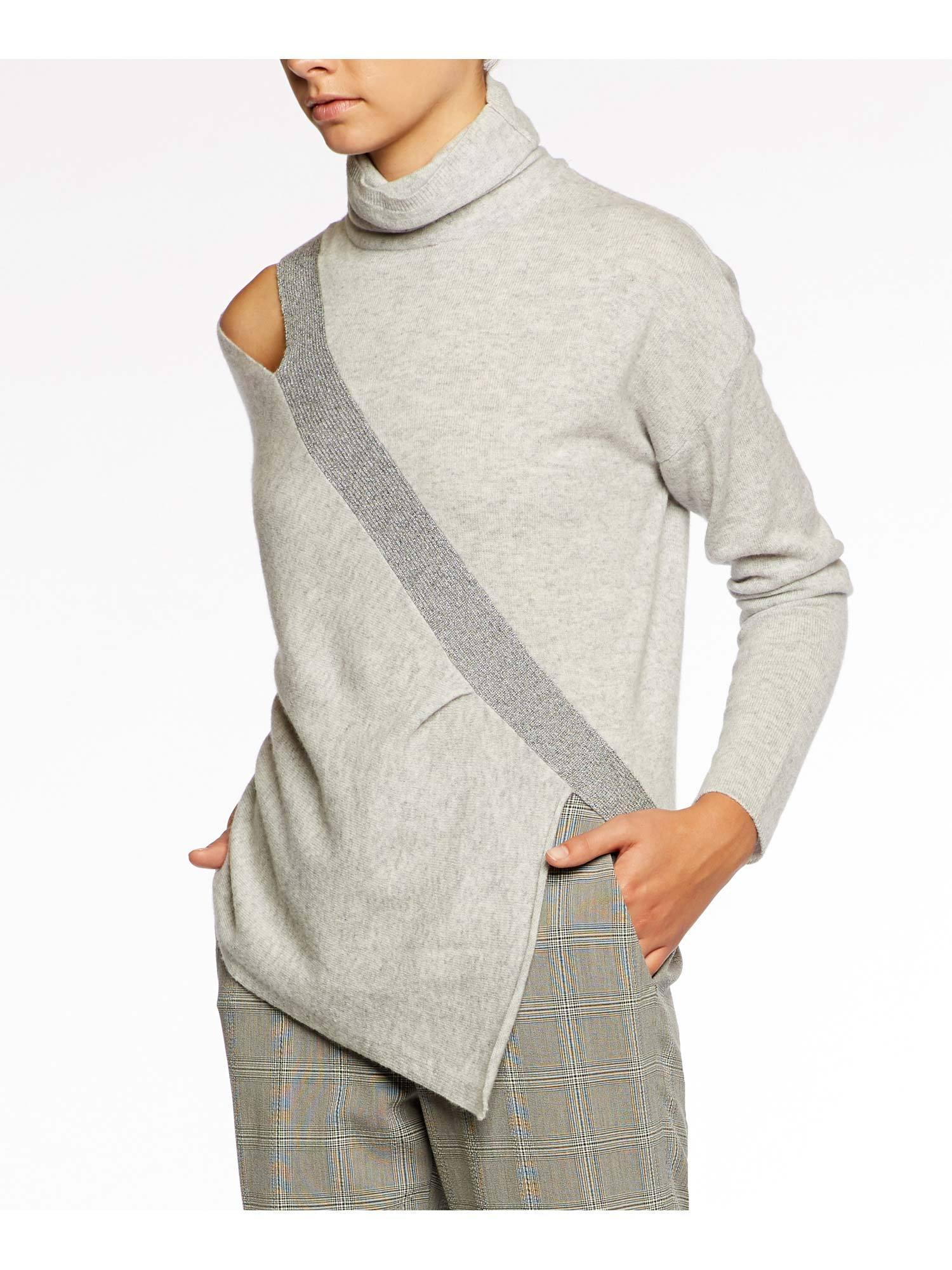 2da40c202fc2f6 Lyst - Brochu Walker The Fae Cut Shoulder Pullover