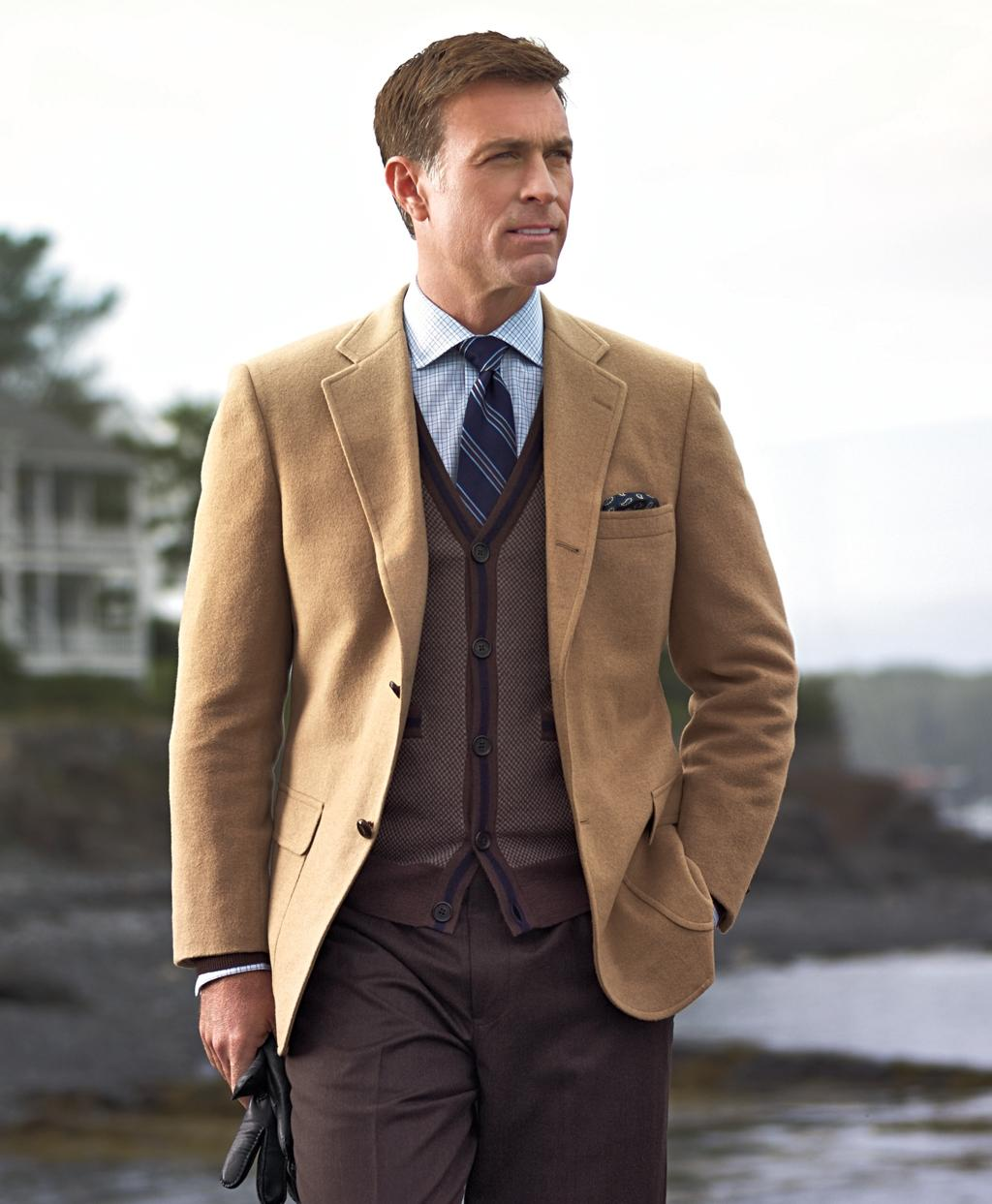 Brooks brothers Three-button Camel Hair Sport Coat in Natural for ...