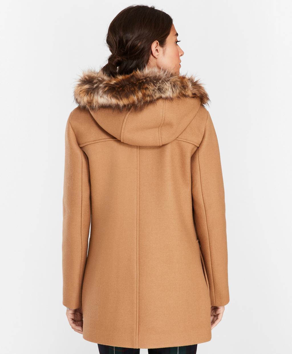 5250e8c46158 ... Double-knit Wool-blend Coat - Lyst. View fullscreen