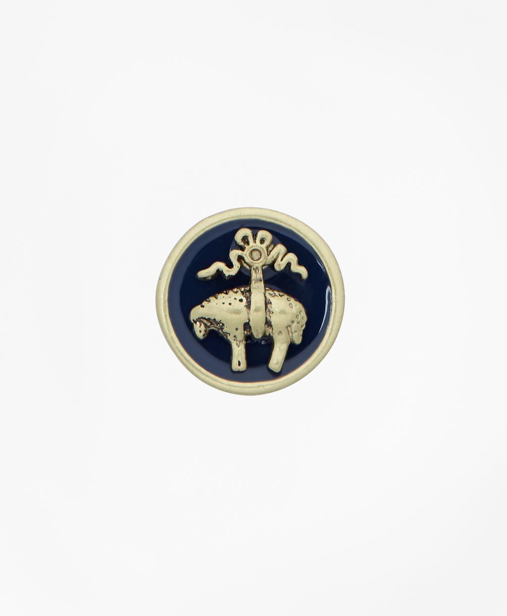 Lyst Brooks Brothers Enamel Lapel Pin In Metallic For Men