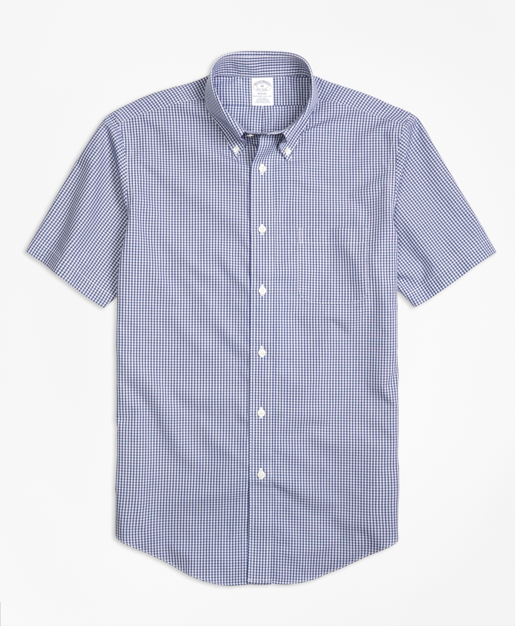 Lyst brooks brothers non iron madison fit micro check for Brooks brothers sports shirts