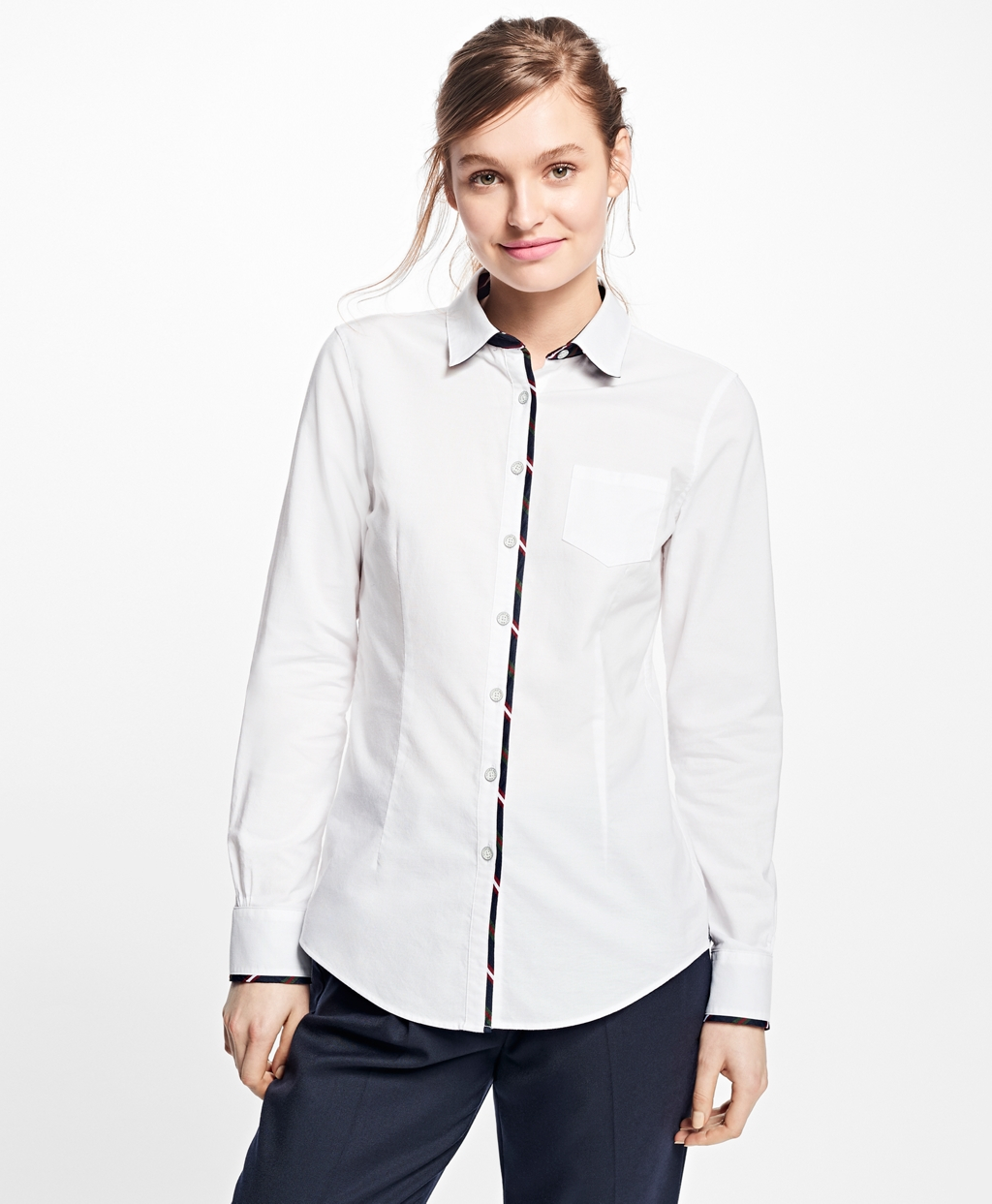 Lyst Brooks Brothers Oxford Shirt In White