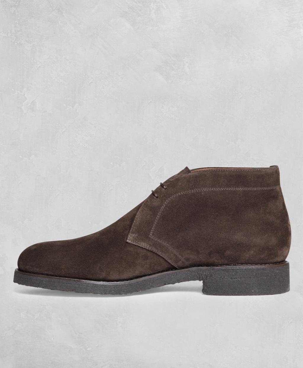 016f3e51f49 Lyst - Brooks Brothers Golden Fleece Suede Chukka Boots in Brown for Men