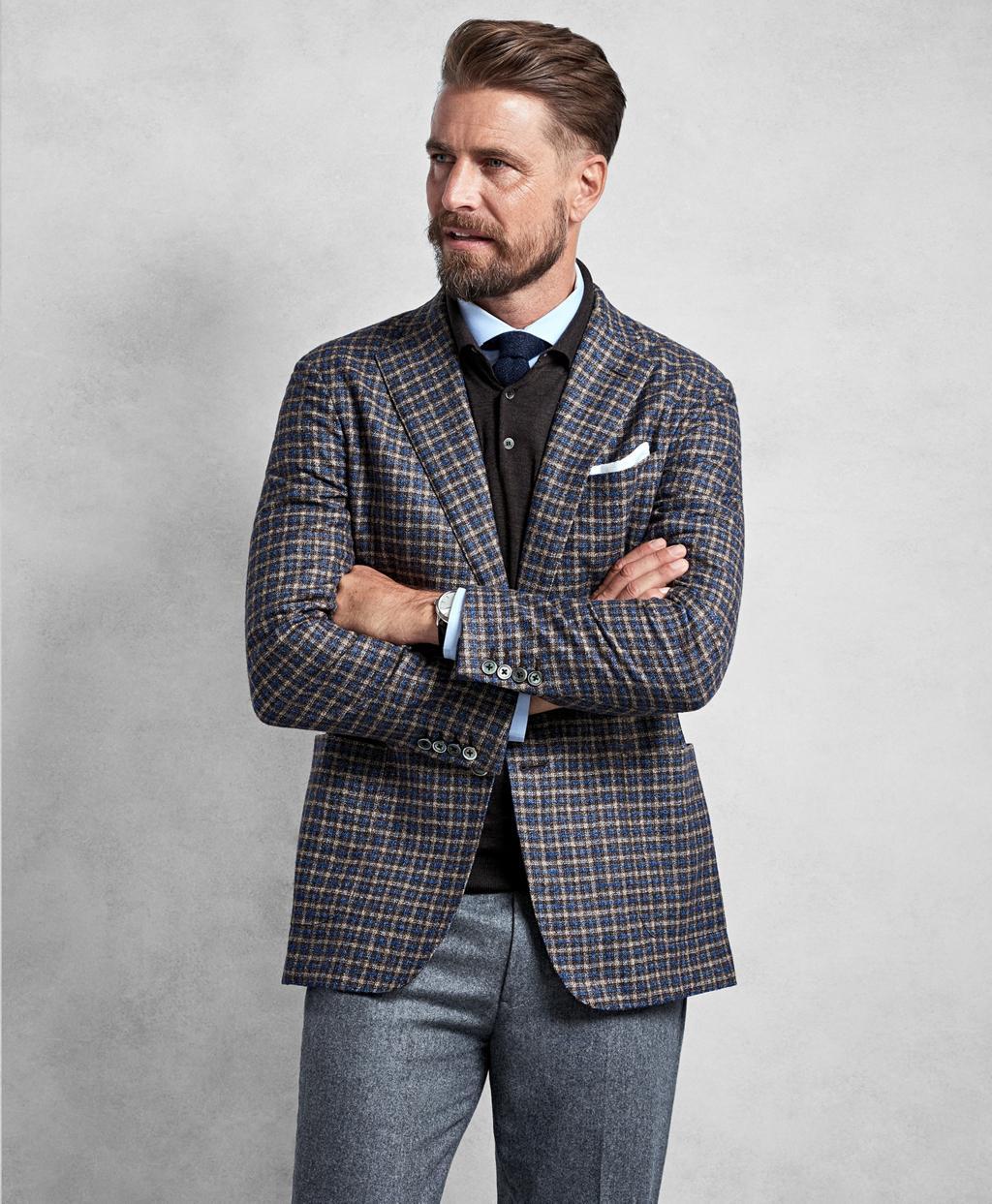 eb1d390daf5 Brooks Brothers Golden Fleece® Brown Multi-check Sport Coat in Brown ...