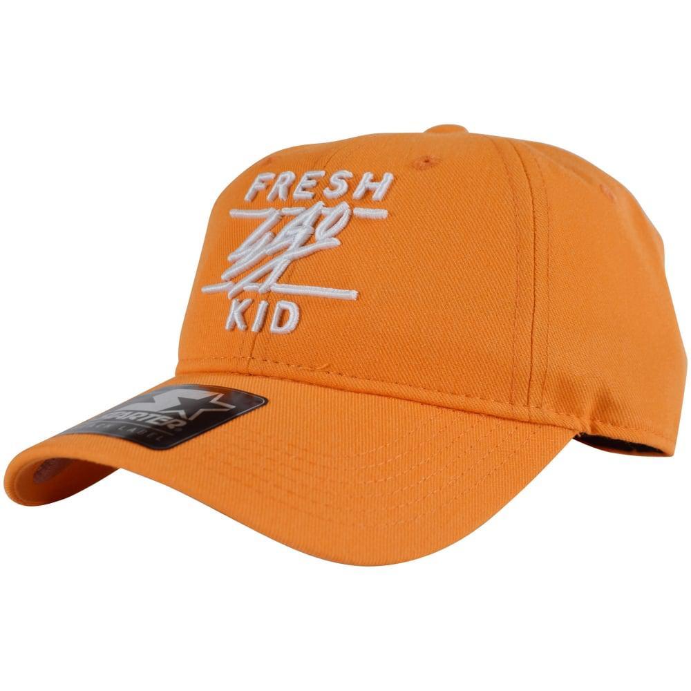 ae3184736cb70 Lyst - Fresh Ego Kid Orange Strapback Cap in Orange for Men