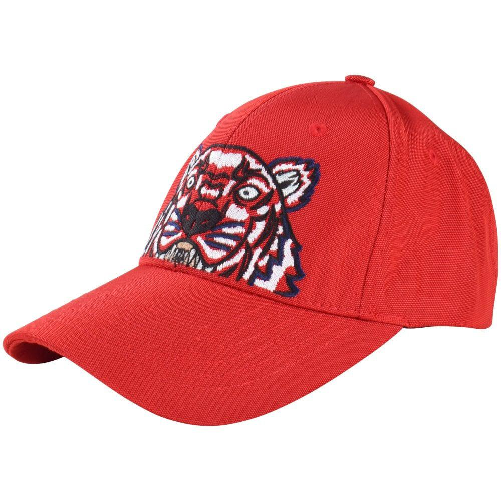 Kenzo Red Tiger Cap in Red for Men - Save 32.075471698113205% - Lyst e6107ca9cdf8