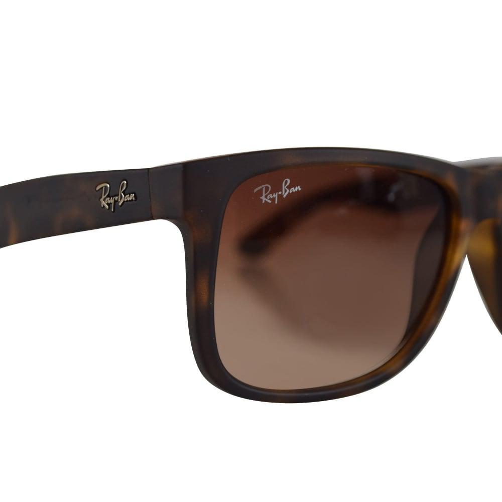 d6a43e93dc ... Ray Ban Sunglasses Matte Havana Brown Rubber Wayfarer Sunglasses for  Men -. View fullscreen