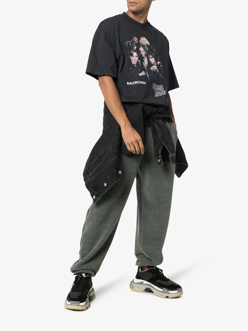 d881d48fc62e Lyst - Balenciaga Speedhunter T-shirt in Black for Men - Save 40%