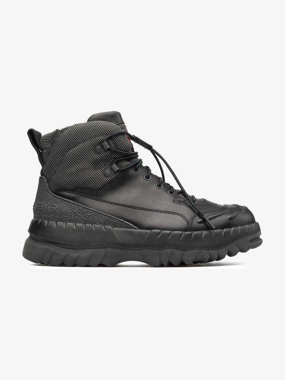 black X Kiko Kostadinov leather boots Camper VllzZy