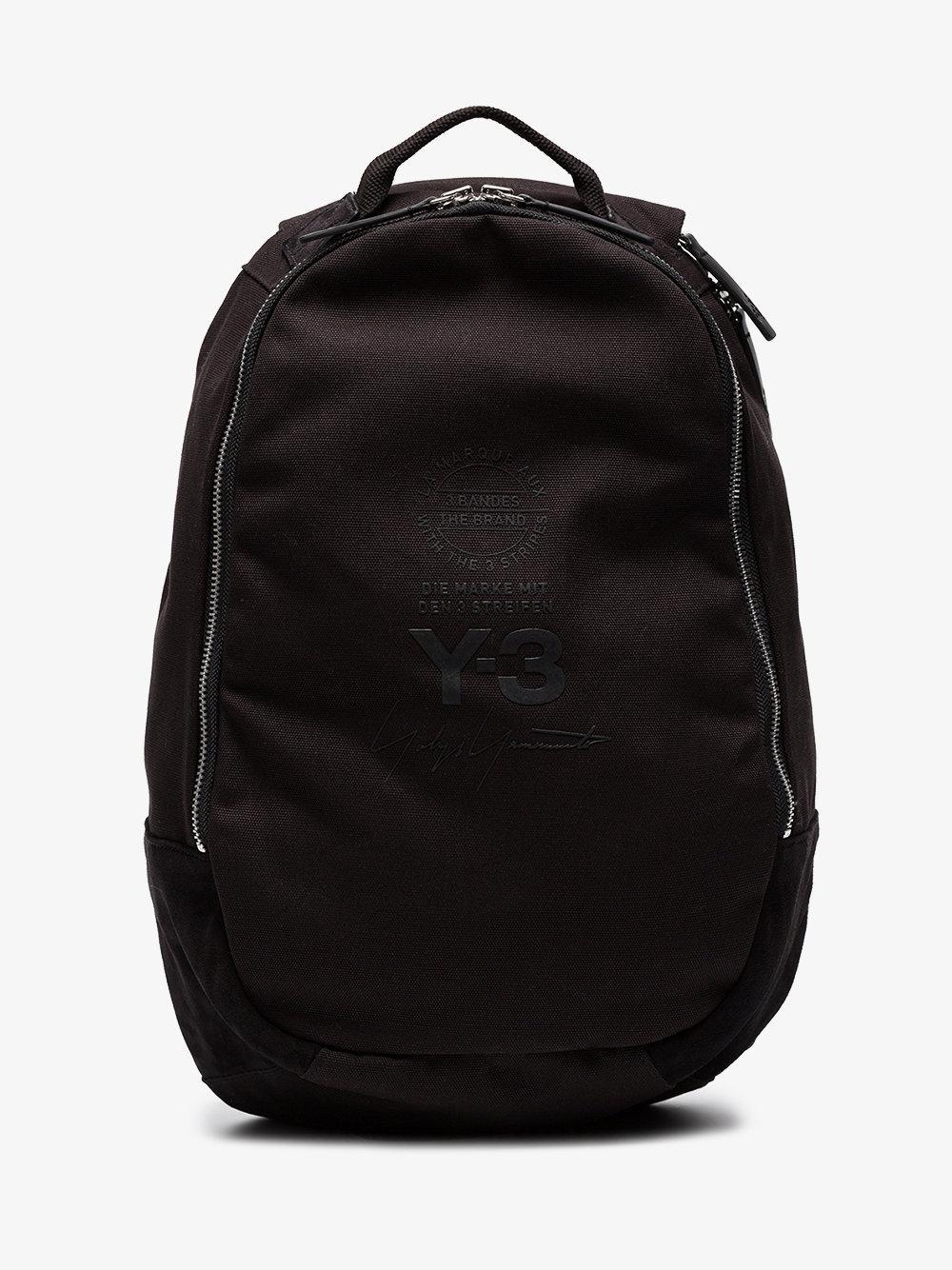 d3f708a6d2 Lyst - Y-3 Street Logo Backpack in Black for Men