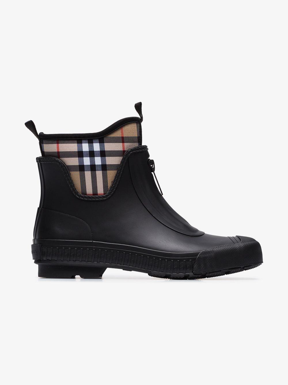 ba0865a425b Lyst - Burberry 20mm Flinton Neoprene   Rubber Boots in Black - Save 7%