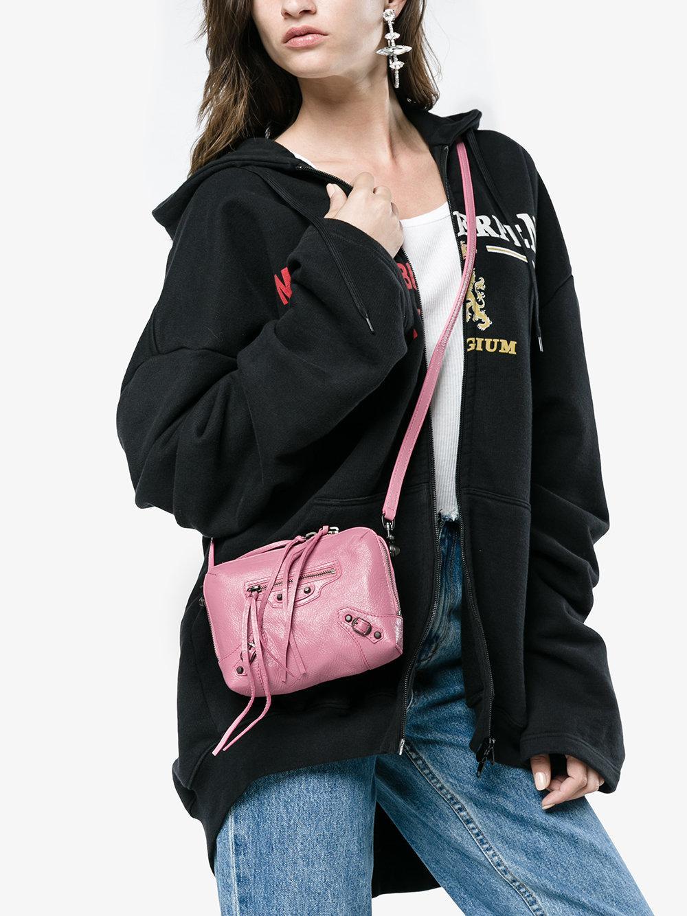 Balenciaga Classic Reporter XS Chain Lamb Leather Crossbody Bag 6lWgseuek
