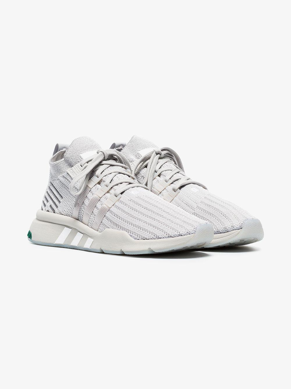 san francisco 8f88b 2a073 adidas. Mens Gray Grey Eqt Bask Adv Trainers