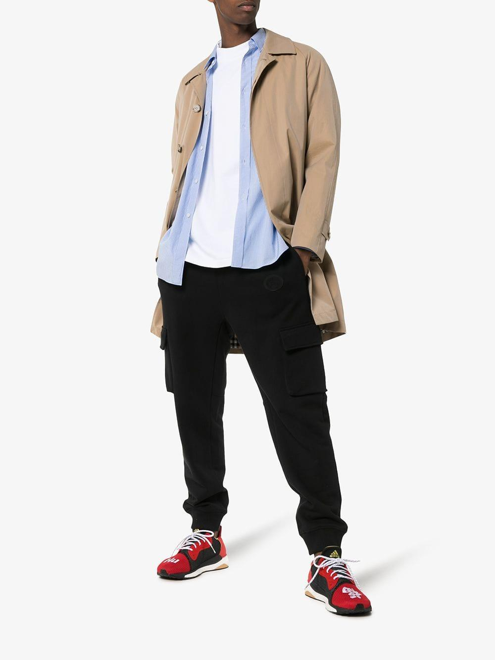 90cf0cc0fbe Adidas - Red And Black X Pharrell Williams Solar Hu Glide St Sneakers for  Men -. View fullscreen