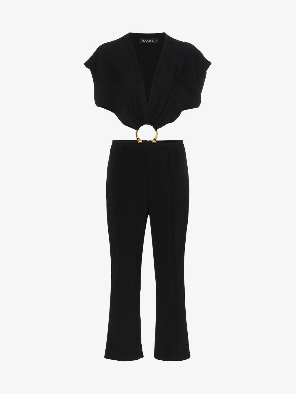 austin silk jumpsuit - Black Haney Enjoy Sale Online Discount Best Sale iMow4HVT