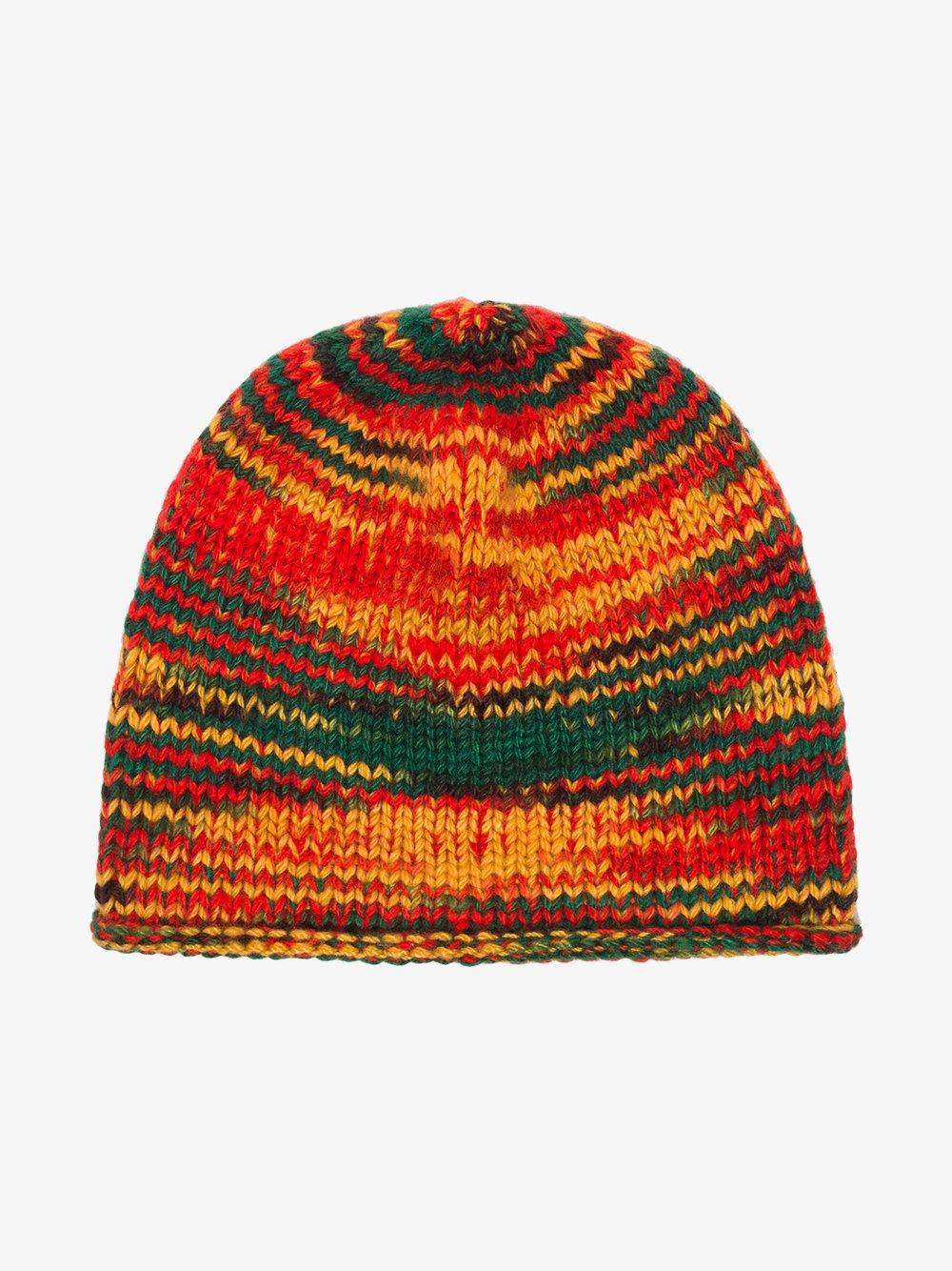 d18a5bcccb53a Lyst - The Elder Statesman Cashmere Rasta Beanie Hat in White